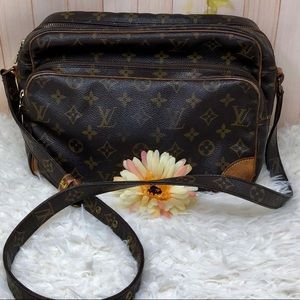 Authentic Louis Vuitton Monogram Nile Crossbody